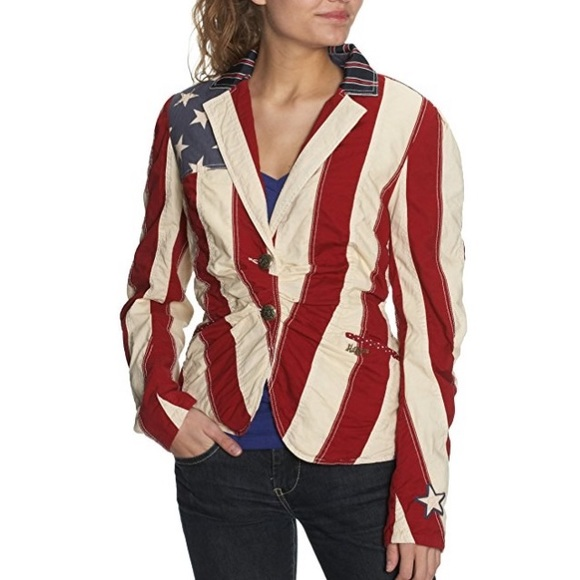 b7d369cb591 Blazer Tommy Hilfiger American Flag Small S Jacket.  M 5b1eed7a6a0bb7231415576d. Other Jackets   Coats ...